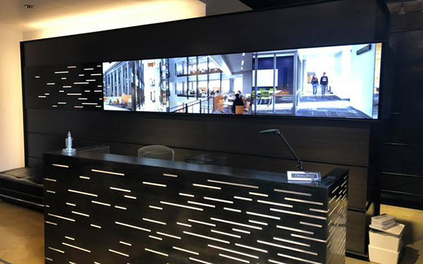 video wall and digital signage